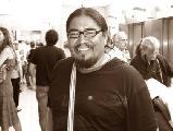 Julio Viyen Leiva del pueblo Qom de Chaco en di�logo con el Peri�dico el Coyuyo