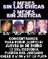 JUSTICIA PARA LAS VICTIMAS DEL CUADRUPLE CRIMEN DE LA PLATA