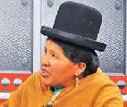 Eligen indígena presidenta del Consejo de la Magistratura de Bolivia