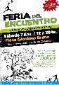 Feria del Encuentro, producciones autogestivas / sáb. 7 de enero. / de 12 a 20 hs.