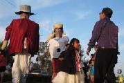 Indígenas zapotecas recrean fiesta de su comunidad en EEUU