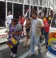 Brasil: Ato na Praça da Sé em solidariedade aos moradores do Pinheirinho