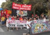 Neuquén: Movilización para exigir justicia ante el crimen de tres militantes del FPDS