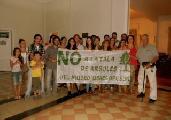 Continúan acciones ciudadanas para impedir la tala en museo de Dolores