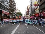 Imágenes de la movilización docente en Córdoba II
