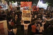 """Tucumán: """"Atención atención: la megaminería es choreo y represión"""""""