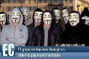 Anonymous bloqueó el sitio web del Vaticano