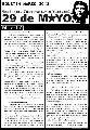 Boletin Nacional de la TUN 29 de Mayo