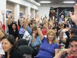 El plenario de ATE Rosario rechazó la oferta salarial