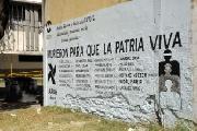 Acto y Mural para reclamar la devolución de la Biblioteca Vigil