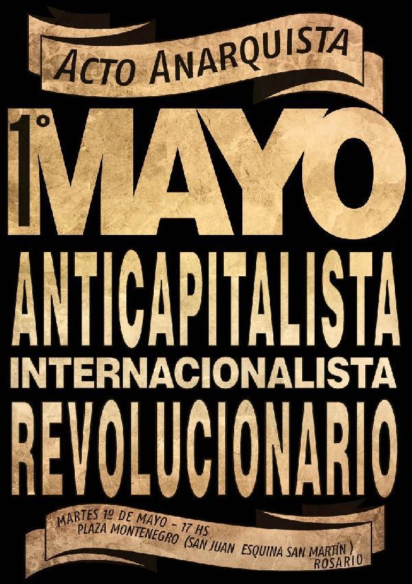 Acto Anarquista: 1° ...