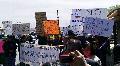Estados Unidos: Protestan en Arizona pueblos indios ante Senadores