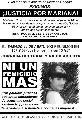 A un mes del femicidio de Mariana Condori