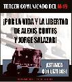 Por la vida y la libertad de Alexis y Jorge