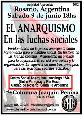Charla-debate El Anarquismo en las Luchas Sociales actuales!