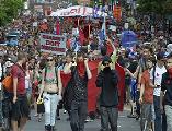 Canadá: Montreal paralizada por marcha estudiantil