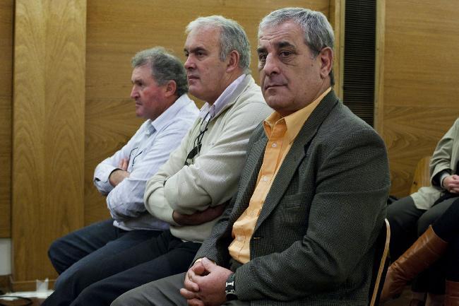 Los acusados...