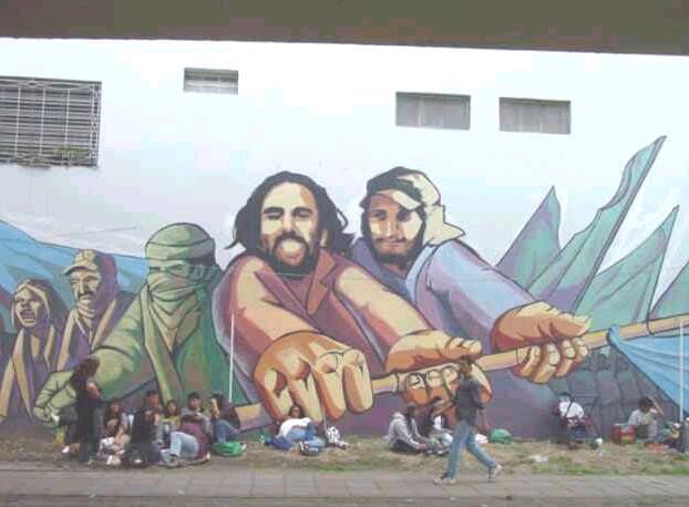 Mural en el Puente P...