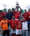 Selección Rapa Nui se llevó el título del Primer Campeonato de Fútbol de Pueblos
