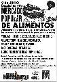 Mercado Popular de Alimentos / sábado 9 de junio / 11 hs.