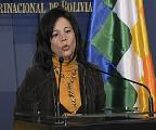 Ministra de Comunicación alerta sobre escenario de Golpe de Estado en Bolivia