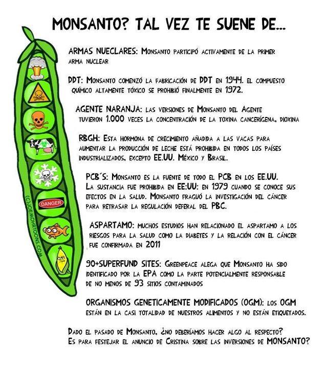 Monsanto hizo esto.....