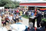 Chaco: El paraje El Colchón festejó inauguración del nuevo edificio del Centro Educativo