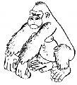 De gorilas y soldados