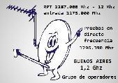 Grupo de Operadores en 1,2 Ghz banda 23 Cm Buenos Aires