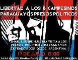 Charla presentación del informe sobre nuestra visita a los presos campesinos en Paraguay