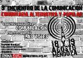 9° Encuentro de la Comunicación Comunitaria, Alternativa y Popular