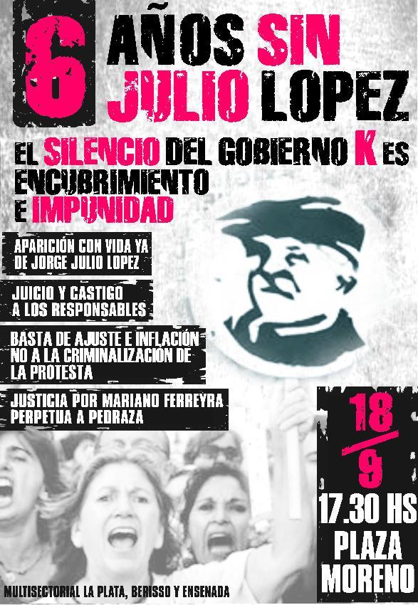 6 años sin López...