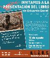 Presentarán libro inédito del desaparecido Eduardo Garat