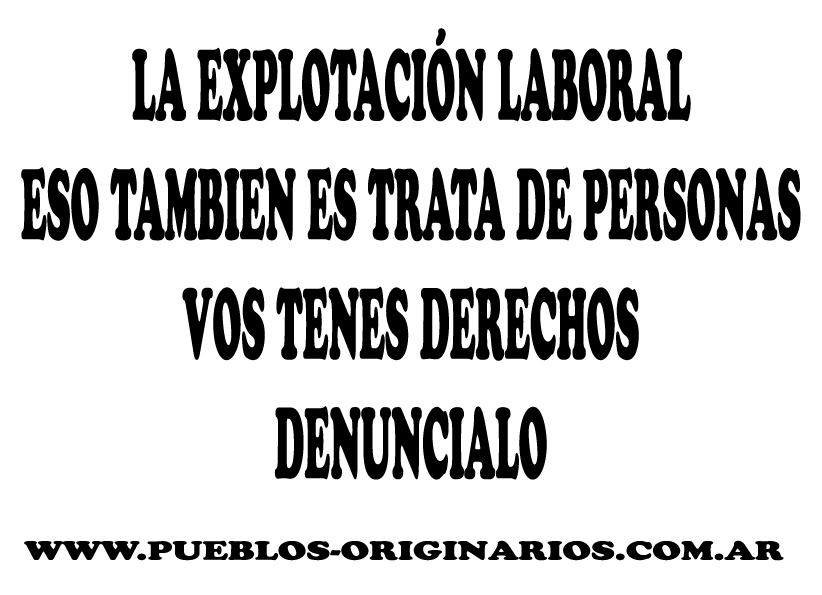 Campaña En Contra De La Trata En Córdoba Wwwpueblos