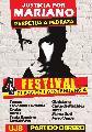 Festival 'Justicia por Mariano'. Pedraza a perpetua