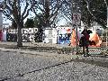 Acto frente a  la cárcel de Rawson