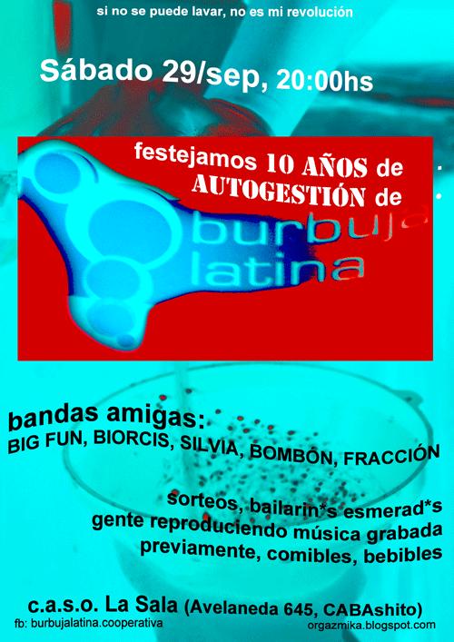 Burbuja Latina...
