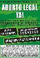 CABA: Por aborto Legal el 1 de Noviembre!