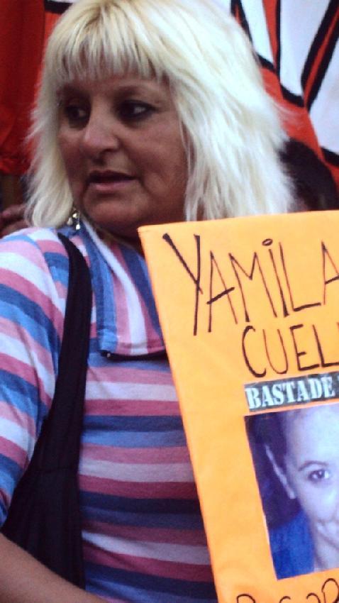 Madre de Yamila Cuel...