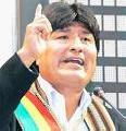 Evo Morales y Bolivia