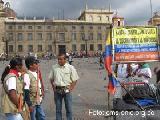 Un joven ind�gena recorre Colombia buscando la justicia social
