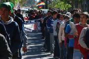 Moviliz� el MOCASE-VC y el gobierno provincial se refugio en el silencio