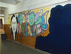 Censura sobre un mur...