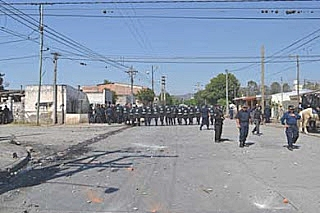 Jujuy: Feroz represi...