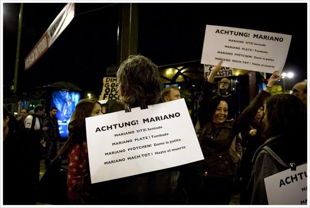 Achtung Rajoy!...