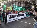 Opus Dei, legionarios de Cristo y otras alima�as en la marcha por el derecho al aborto
