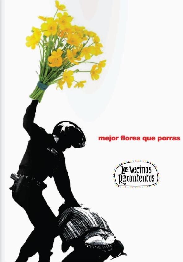 Mejor flores que por...