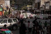 M�s de 4 mil personas en la calle: cr�nica de la contundente marcha contra la megaminer�a