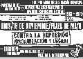 Bolet�n informativo n� 678: El viernes a las 18, acto en Plaza de Mayo...