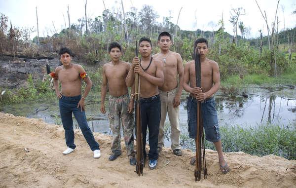 La tribu más amenaza...